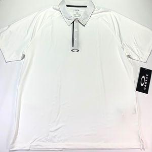 Oakley Golf Polo XXL Crestible Elemental White NEW